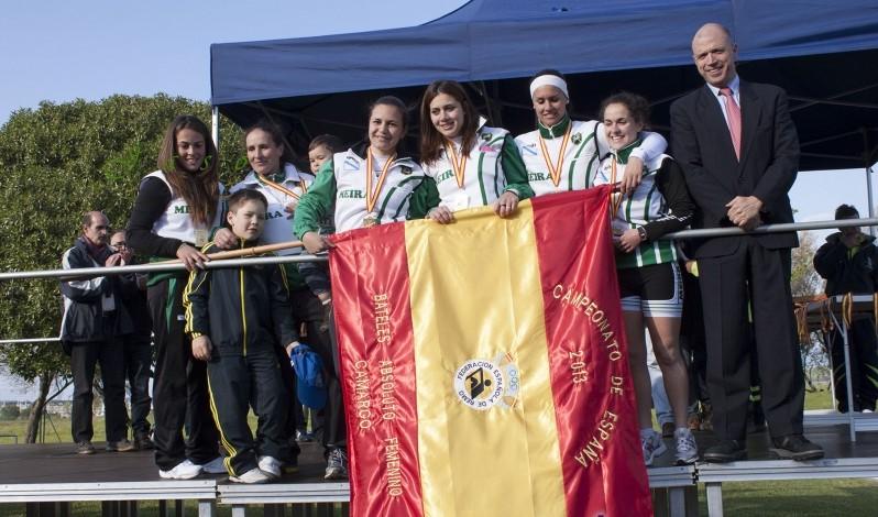Bandeira Campionato España de Trainerillas Mulleres